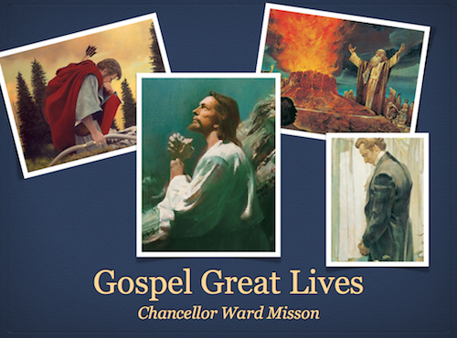 Chancellor Gospel Great Lives